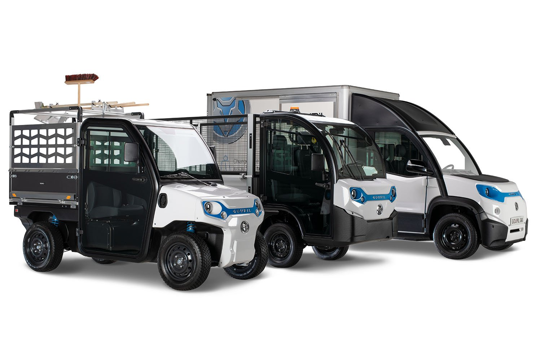 100 Prozent elektrisch betriebene Nutzfahrzeuge von Goupil © Goupil