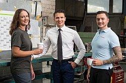 Zuverlässige Personaldienstleistung für Kunden und Mitarbeiter. Klar, klug und kompetent