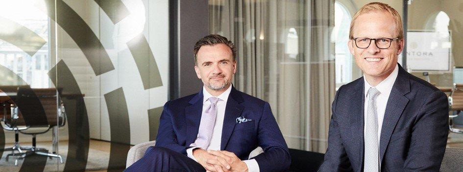 Kontora Family Office GmbH - Geschäftsführer Stephan Buchwald (links) und Dr. Patrick Maurenbrecher (rechts)