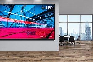 LED-Wand installieren