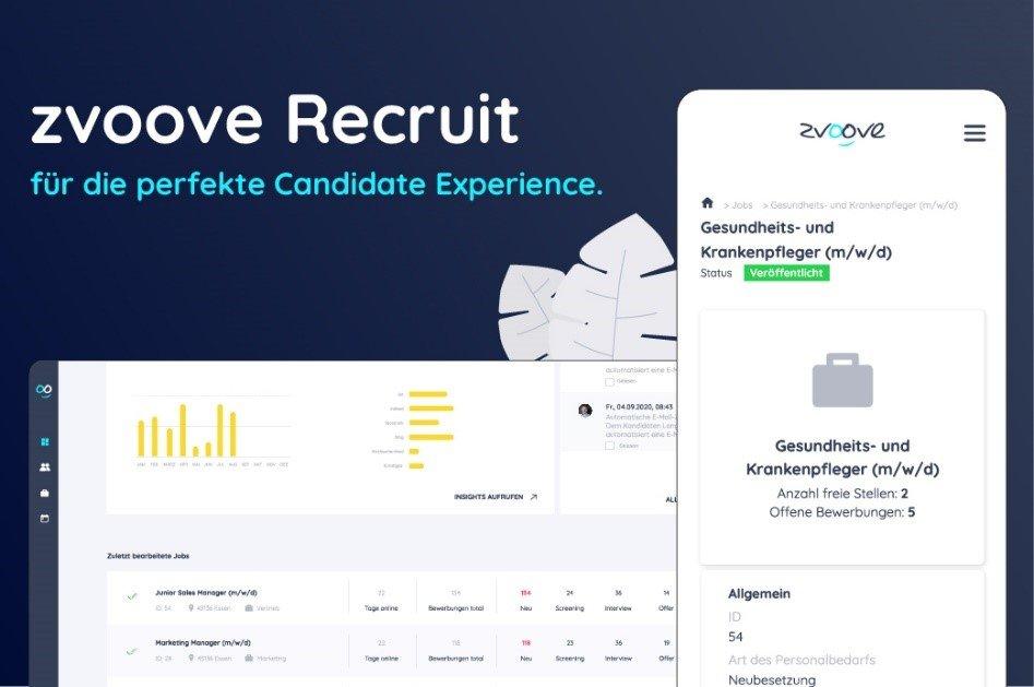 Recruiting-Software | Bewerbungsprozess vereinfachen