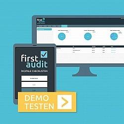 Eine Demo der Audit App gibt es auf der Website