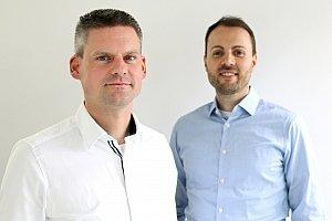 Andreas Scheibe (links) und Christoph Eckstein von der Continu-ING GmbH