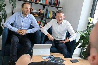 Kennen sich bereits seit Kindertagen: Christoph Eckstein und Andreas Scheibe