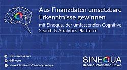 Zum informationsgetriebenen Unternehmen mit Cognitive Search and Analytics von Sinequa