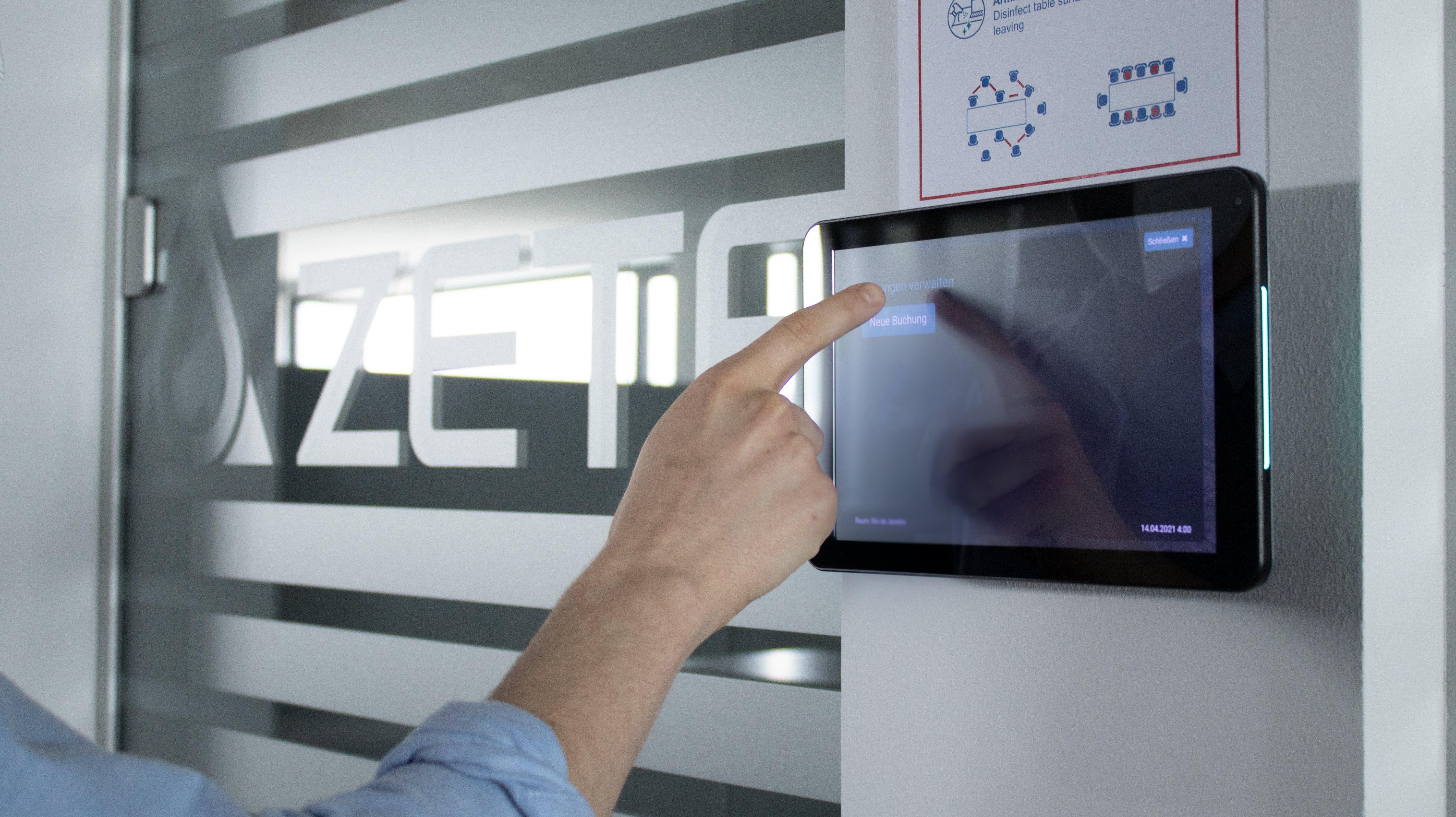 sklera ermöglicht der ZETA Gruppe die einfache Verwaltung ihrer Türschilder © ZETA Gruppe