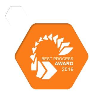 Optimale Geschäftsprozesse - bestätigt durch den Best Process Award